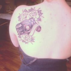 15 Flashy Camera Tattoo Designs