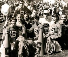 S. U. Cheerleaders 1951