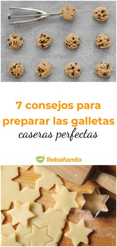 7 tips for preparing the perfect homemade cookies # biscuits # homemade cookies Food N, Food And Drink, Healthy Diners, Homemade Cookies, Cakes And More, Food Hacks, I Foods, Love Food, Cookie Recipes
