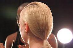 catwalk ponytail hair - Google Search