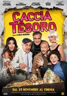 Caccia al tesoro, scheda del film di Carlo Vanzina con Vincenzo Salemme, Carlo Buccirosso e Max Tortora, leggi la trama e la recensione, guarda il trailer, data di uscita al cinema