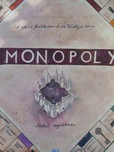 Bastelprojekt: Harry Potter Monopoly (How to) - Sim Forum