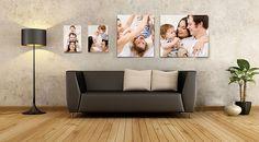 Decora tu casa con tus  #fotos impresas en #canvas! Elige un #fotomural de nuestras opciones: www.recuadros.com