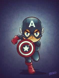 Captain America Mini Superheroes