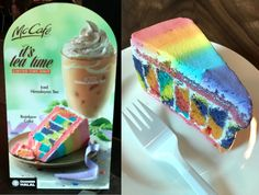 Happy meal happy ending: McDonald's Malaysia is dishing out gay rainbow cakes! Yassssss, Asian! (Kuala Lumpur)