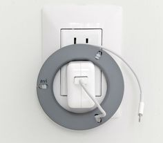 The Smart-Spool Spin for iPad keeps your charger and cable beautifully organized.