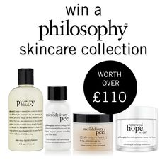 To celebrate the Heart Beauty Essentials box, we've teamed up with philosophy for your chance to win an incredible skincare collection!