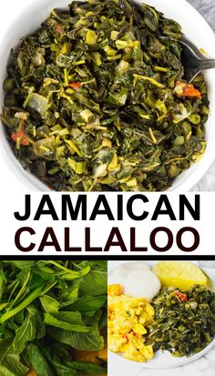 Factors You Need To Give Thought To When Selecting A Saucepan Callaloo Is An Ancient Green Leafy Vegetable Also Known As Amaranth It Has Been Consumed For Thousands Of Years. Green Vegetable Recipes, Veggie Recipes, Vegetarian Recipes, Cooking Recipes, Healthy Recipes, Cooking Tips, Healthy Breakfasts, Potato Recipes, Pasta Recipes