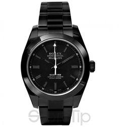 Milgauss Titanium-Coated Watch