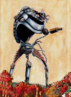 The Tripod- arch-nemesis and Martian invader! OOOOOOLAAAAA!