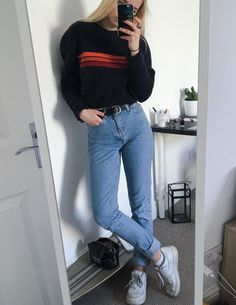 go and buy random shirts at thrift stores to get an easy grunge look | Pinterest Addicted_to_aesthetic Addicted_to_aesthetic Pinterest
