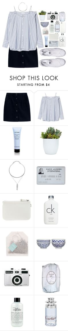"""""""'"""" by oramivedi ❤ liked on Polyvore featuring A.P.C., adidas Originals, Givenchy, Nine West, Calvin Klein, Paper Source, Pols Potten, Holga, Fresh and philosophy"""