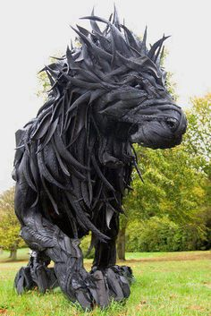 Made of Waste Tires by Yong Ho Ji