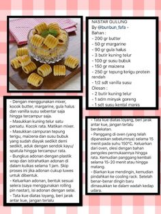 Nastar gulung My Recipes, Snack Recipes, Snacks, Cookie Desserts, Cookie Recipes, Indonesian Food, Biscuit Recipe, Yummy Cookies, Bread Baking