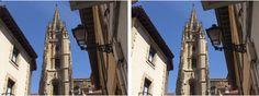 (FOTO EN 3D. By Valentín Enrique). Torre de La Catedral. Oviedo. Principado de Asturias. Spain.