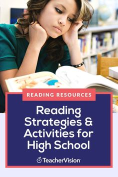 These ready-to-go reading activities and strategies will help you quickly and easily support students at all levels across the high school grades. Reading Resources, Reading Activities, Reading Skills, Teacher Resources, Differentiation Strategies, Teaching Strategies, Teaching Tips, Contextual Clues, School Grades