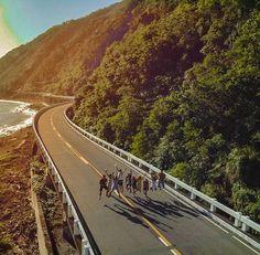 📍 Patapat Viaduct located at Pagudpud, Ilocos Norte 📸 by: Ilocos, Tourist Spots, Travel Activities, Manila, Philippines, Road Trip, Aesthetics, Country Roads, Adventure