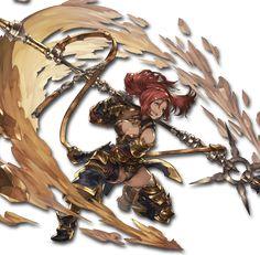 Female Character Design, Character Design References, Character Design Inspiration, Character Concept, Character Art, Concept Art, Fantasy Heroes, Fantasy Girl, Granblue Fantasy Characters
