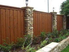 Dallas Cedar Wood Fence and Gate Design, Builder, Construction, Installation and Contractors- Residential and Commercial- North Dallas, McKi. Cedar Wood Fence, Wood Privacy Fence, Metal Fence, Wooden Fence, Fence Panels, Wooden Garden, Brick Fence, Tor Design, Fence Design