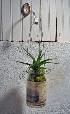 """Hanging a plant outside or a tea light jar or drying towel inside.  """"slaps forehead"""" why didn't I think of this, at the cottage I used cutlery for drawer and door pulls.  This will work great with it"""