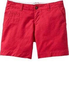 Women's Perfect Khaki Shorts  Available at Old Navy $20