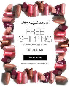 AVON Free Shipping Offer!
