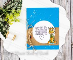 Hello! Have you gotten a peek at the newest  Simon Says Stamp Card Kit for April - Wild and Colorful  that just released? Lots of adorable ...
