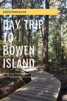 Looking for a place for a day trip from Vancouver? Planning a trip to Bowen Island? Find out about day trip to Bowen Island, things to do and what to eat! Vancouver Travel, Vancouver Island, Places To Travel, Places To See, Travel Local, 2 Days Trip, Day Trips, Canada Travel, Columbia Travel