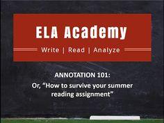 argumentative essay 101