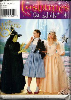 Simplicity 7808 / 0632 ADULT Wizard Of Oz by vintagepatternstore