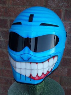custom airbrushed helmet bandit alien 2 | eBay