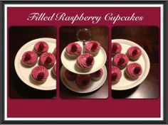 Filled Raspberry Cupcakes