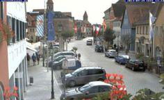 Live camera Marktplatz, Gunzenhausen Aha, Germany.