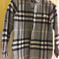 Boys Burberry shirt Boys plaid burberry new with tags smoke free home Burberry Tops Button Down Shirts