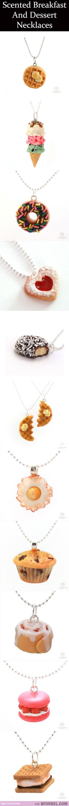 11 Scented Food Necklaces… $28