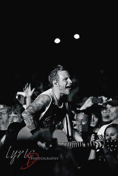 Zach | Shinedown | Lyric D Photography © Julia Dunagan