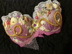 Ariel's Wish  Sparkly Sea Goddess Custom Bra by lilkittyko on Etsy, $95.00