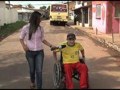 Pessoas com deficiência sem direito à acessibildade na Vila Lobão