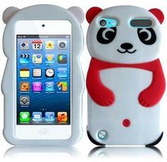 For Apple Ipod Touch 5 Generation Panda Silicone Jelly Skin Cover Case Hot Pink Accessory Ipod 5 Cases, Ipod Touch Cases, Cool Iphone Cases, Cool Cases, Laptop Cases, Ipod Touch 5th Generation, Ipad Accessories, Panda Bear, Pink Panda