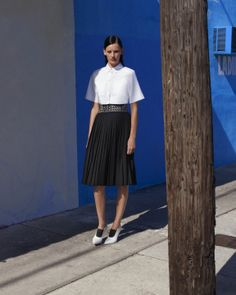 Crop tops and swingy skirts. We're ready for some beautiful weather this weekend! Alexander Wang, 212 872 2684