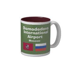 Domodedovo* International Airport DME Moscow Mug; www.zazzle.com/airports*