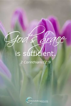 God's grace is sufficient. God provides enough grace for each day. Each time we face trials, God is always faithful. God's grace is sufficient. Christ Quotes, Bible Verses Quotes, Bible Scriptures, Faith Quotes, Gods Grace Quotes, Healing Scriptures, Heart Quotes, Wallpapers Gospel, Biblical Verses