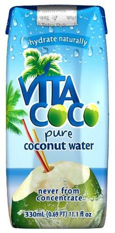Vita Coco 100% Pure Coconut Water, 11.1-Ounce Containers (Pack of 12) by Vita Coco, http://www.amazon.com/dp/B000LL0R8I/ref=cm_sw_r_pi_dp_vg7jqb09ZFQGE