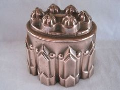 Antique Victorian copper jelly / jello mould / mold tin lined   eBay