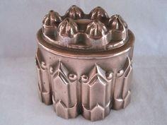 Antique Victorian copper jelly / jello mould / mold tin lined | eBay