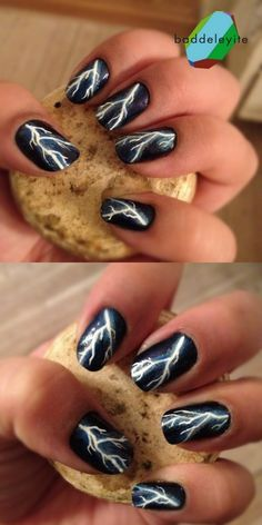 Top 17 New Halloween Nail Designs – Easy Famous Home Manicure Fashion Trend - Easy Idea (10)