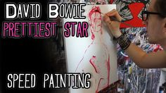 BOWIE 'Prettiest Star' SPEED PAINTING - Art Of Stephen Quick