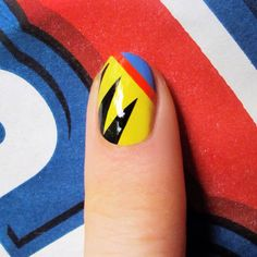 Refinery29 X-Men wolverine nails for block buster nail series