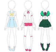 School Uniforms 1 by VanillaChama on DeviantArt
