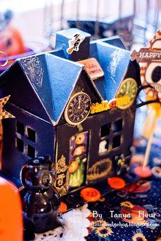 """Вдохновение: Мастер-класс """"Осенний и Хеллоуинский декор"""", конкурс и моя подготовка к Хеллоуину."""